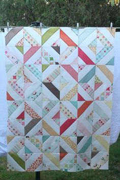 England Street Quilts: WIP - Riley Blake Jelly Roll Quilts