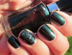 My Nail Polish Obsession: Poison Ivy + Here Lies Robert