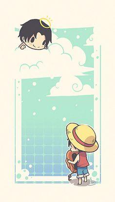 Ace x Luffy - Acelu