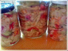 Fermentált savanyúság (paleo)    A receptet kedves paleos társamtól kaptam Németh Andreától     köszönöm szépen Andrea ,nagyon finom. több paprikát és sárgarépát raktam bele Paleo, Evo, Vegetables, Red Peppers, Beach Wrap, Vegetable Recipes, Veggies, Paleo Food