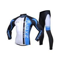 Best Value C Long Sleeve Cycling Jerseys Mountain Bike Road Bicycle 3D Padded  Tights