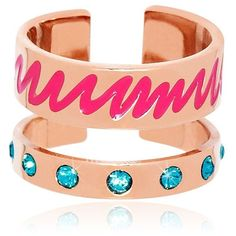 MARIA FRANCESCA PEPE Graffiti Collection Midi-Finger Ring