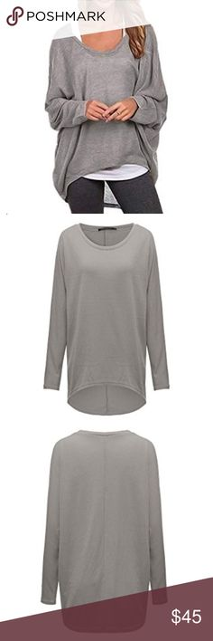 🌸loose pullover shirt 🌸 Loose pullover sweater or long sleeve shirt. It comes in various sizes and colors. Please let me know what color you want when purchasing.  🌸Make an offer 🌸Bundle for an additional 10% off 🌸Don't hesitate to ask any questions  🌸Available in S M L and XL Sweaters