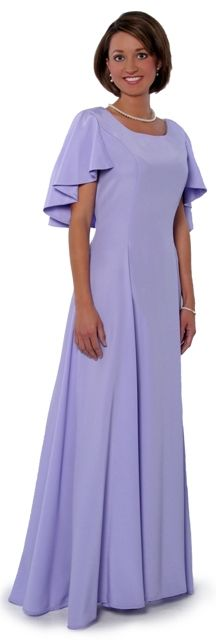 Our most popular Eastern Star Installation Dress is available in all of the Star Point colors!  Ideal for the Mature woman or Mother of the Bride/Groom.