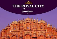 A Royal City, #Jaipur, book #Tickets to #India for save upto 25% off.