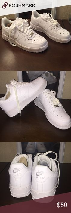 nike women's air force 1's BRAND NEW condition, never worn, 100% clean pure white Nike Shoes Sneakers