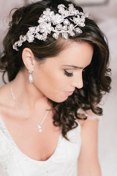 wedding hair- I am so paticular about my hair, I think I want my hair down and the bridesmaids up. :)
