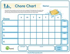 Chore charts are a great way to help your kids keep track of their daily and…