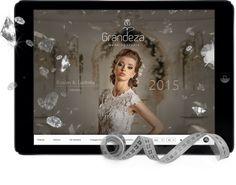 Strona - katalog dla studii Grandeza  http://wezom.pl/services/tworzenie-stron-internetowych