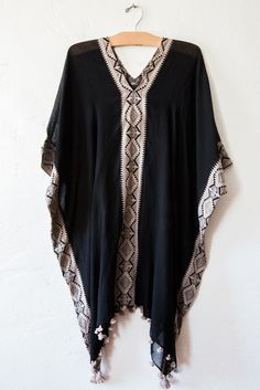 matta black zuari coverup – Lost & Found Gypsy Style, Bohemian Style, Boho Chic, Style Me, Love Fashion, Fashion Outfits, Womens Fashion, Funky Dresses, Hippie Outfits