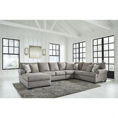 Shop for Renchen Pewter LAF Chaise Sectional starting at at our furniture store located at 2113 Rt 35 North, Oakhurst, NJ 07755 Pine Bedroom Furniture, Modern Furniture, Rustic Furniture, Outdoor Furniture, Kids Furniture, Luxury Furniture, Furniture Layout, Furniture Arrangement, Furniture Stores