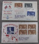 First Day Cover Cachet King George VI Coronation Issue British Guiana Lot Of 2 - http://stamps.goshoppins.com/worldwide-stamps/first-day-cover-cachet-king-george-vi-coronation-issue-british-guiana-lot-of-2/