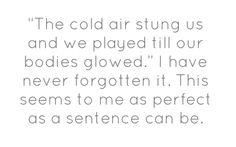 Jhumpa Lahiri, My Life's Sentences
