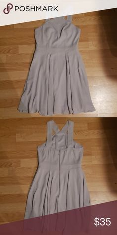 Shop Women's Lulu's Gray size S Mini at a discounted price at Poshmark. Description: Grey lulu's dress only worn one time in a wedding. Lulu's Dresses, Summer Dresses, Gray Color, Product Description, Skirts, Shopping, Things To Sell, Style, Fashion