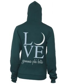 LOVE Gamma Phi. Maybe in our branded pink and brown colors instead.