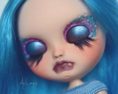 Nilam - OOAK Custom Icy doll