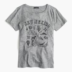 """J.Crew - """"New Mexico"""" destination art T-shirt. Size  L. Buy it when it's on sale or with a sale code. :)"""