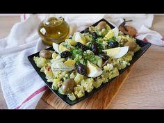 Salata de cartofi cu oua si masline Salads