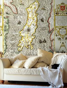 Map Wallpaper from Love Maps On...