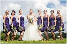 Obviously not necessarily these dresses, but the boots look really cute with the purple :)