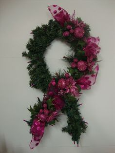 Breast Cancer Awareness Ribbon of Hope by MelsCreativeCrafts, $34.99