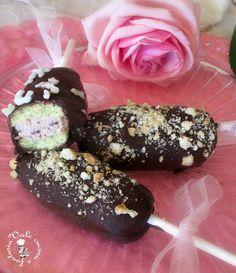 Gelati biscotto con ricotta e nutella,ricetta dolce