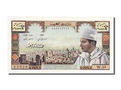 Billets du Maroc (Banknotes Morocco), 5 Dirhams type 1960, non daté (1969)