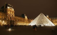 The Louvre - What's more inspiring than French fashion? Why, french architecture of course!