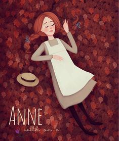 Anne with an E illustration on Behance Beau Film, Anne Auf Green Gables, Anne White, Amybeth Mcnulty, Anne With An E, Anne Shirley, Kindred Spirits, Illustration Art, Illustrations