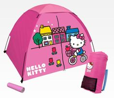 Hello Kitty 4 Piece Outdoor Set: Camping