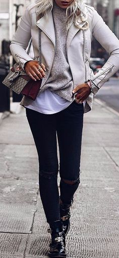 chic street style amazing look