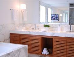 Detalhe marcenaria banheiro