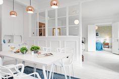 瑞典 28 坪超透光隔間公寓 - DECOmyplace