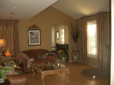 Extreme Manufactured Home Remodel Living Room 4