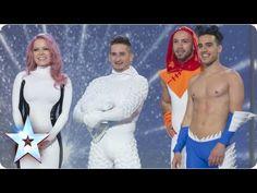 ▶ Freelusion the interactive dance superheroes   Semi-Final 3   Britain's Got Talent 2013 - YouTube