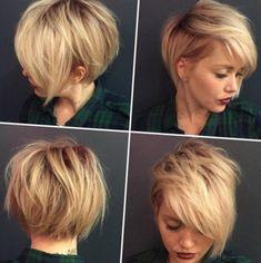 Short hairstyles for women 2016 - http://frisuren2016.ru/frisurenkollektionen/7160-short-hairstyles-for-women-2016.html #Frisurenkollektionen #trends #frisuren #haartrends #frisur #haarstyle