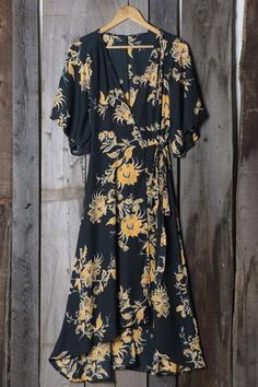 Cupshe Bad Moon Printing Long Wrap Dress Coupon Code