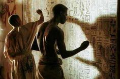 The Ancient Egyptian scribe, or sesh, was a person educated in the arts of writing (using both hieroglyphics and hieratic scripts).