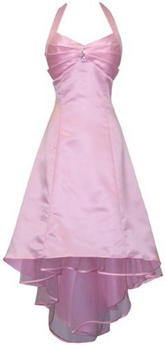 Satin Halter Dress Tulle Mini Train Prom Bridesmaid Holiday Formal Gown Junior Plus Size, 2X, Pink PacificPlex,http://www.amazon.com/dp/B0017IY7DU/ref=cm_sw_r_pi_dp_B0oorb0T1K57QH7A