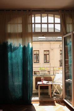 tie dye curtains #shibori