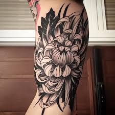 Risultati immagini per chrysanthemum tattoo