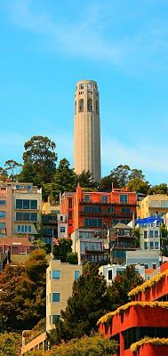 Coit Tower - San Francisco         ..Sanfranciscophotosoftheday.blogspot.com