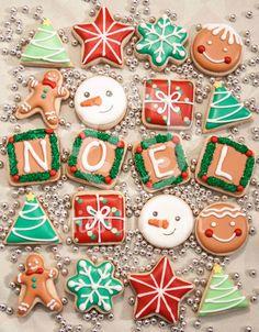 Noël cookies biscuits 2012 www.MissCuit.com