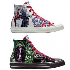 9009a199d74b Converse Custom Chuck Taylor Suicide Squad High-Top Shoes