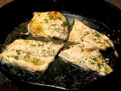 Pan Seared Lemon Pepper Rainbow Trout