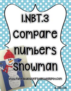 Comparing Numbers Snowman