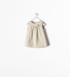 ZARA - NEW THIS WEEK - DRESS WITH BOW APPLIQUÉ
