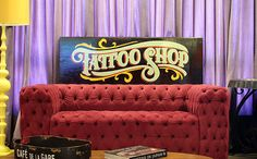Tattoo Shop sign on Behance