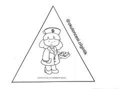 Kızılay kitapçığım kalıp-6 başak ünlüer özberk @okuloncesi.cilginlik #okuloncesicilginlik Felt Patterns, Fictional Characters, Puzzles, Ideas, Silk, Puzzle, Jigsaw Puzzles, Felt Templates