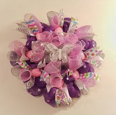 Whimsical Butterfly Wreath by WoodbreysWreaths on Etsy